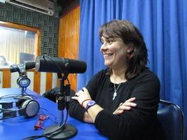 Carla Peñaloza, académica del DEP.